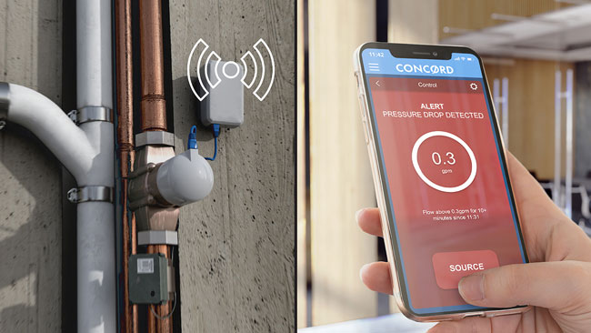 Building-Wide Water Flow Detection and Remote Shut-Off System